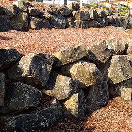 Large Boulder Rock Walls