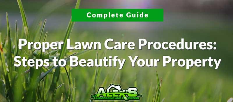 lawn care procedures