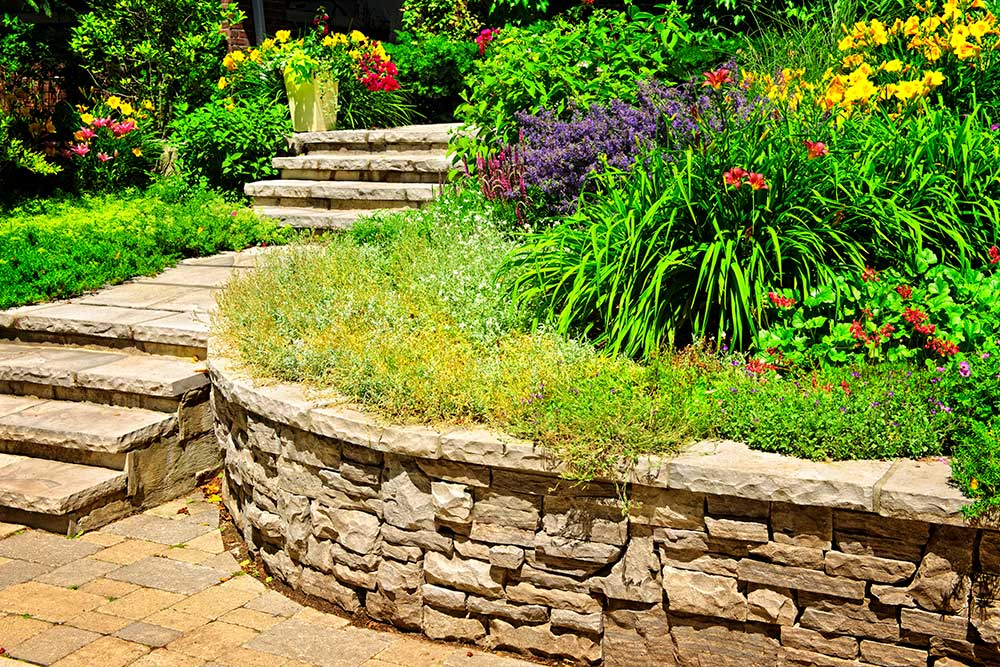 Retaining Walls Beautify and Protect Your Landscape—Alex's Landscaping and Excavating