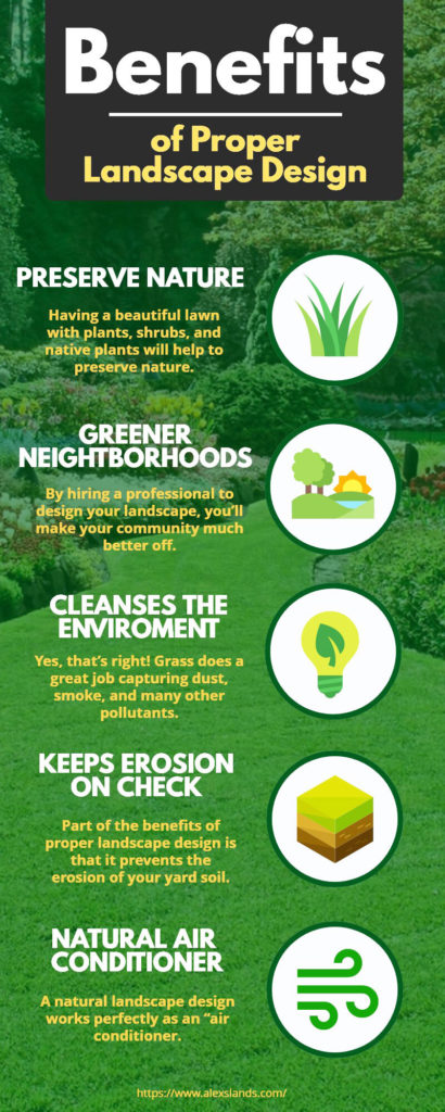 These Are the 5 Main Benefits of Proper Landscape Design