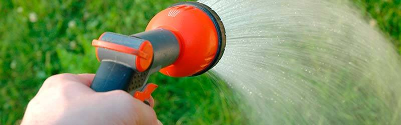 Apply One Inch of Water: Once per Week
